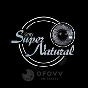 Ofovv® Eye Circle Lens Super Natural Grey Colored Contact Lenses V6028(1 YEAR)