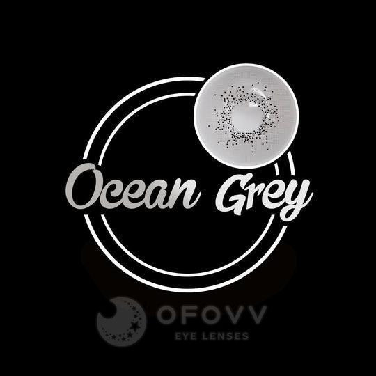Ofovv® Eye Circle Lens Ocean Grey Colored Contact Lenses V6103(1 YEAR)