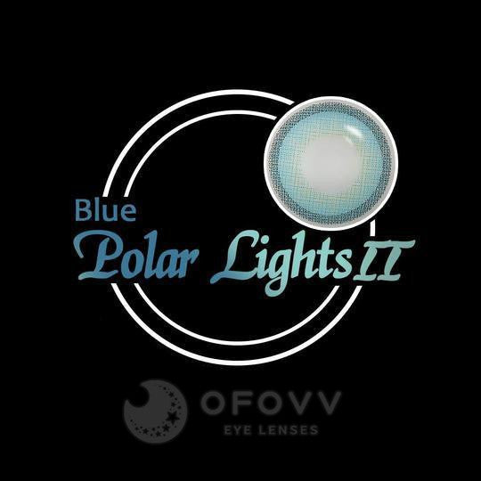 Ofovv® Eye Circle Lens Polar Lights Blue II Colored Contact Lenses V6106(1 YEAR)