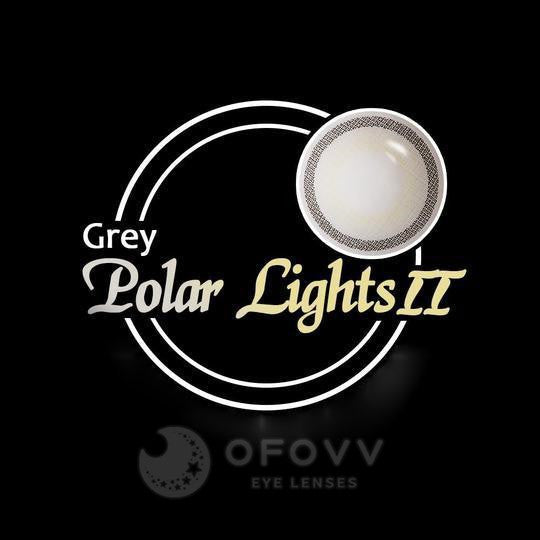 Ofovv® Eye Circle Lens Polar Lights Grey II Colored Contact Lenses V6112(1 YEAR)