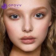 Ofovv® Eye Circle Lens Muse Grey Colored Contact Lenses V6150(1 YEAR)