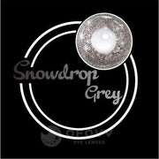 Ofovv® Eye Circle Lens Snowdrop Grey Colored Contact Lenses V6161(1 YEAR)