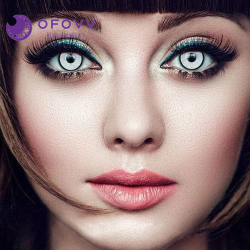 Ofovv® Eye Circle Lens Manson Special Effect Colored Contact Lenses V6219(1 YEAR)