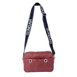 Bolsa Crossbody Laura Burdeos