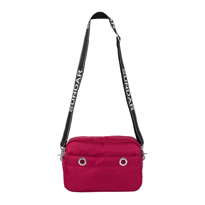 Bolsa Crossbody Laura Granate