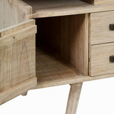 Desk Cedertræ (140 x 70 x 76 cm) - Pure Life Samling by Craftenwood