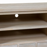 TV-bord Fyr Mdf Paulonia træ (150 x 50 x 66 cm) - Natural Samling by Craftenwood