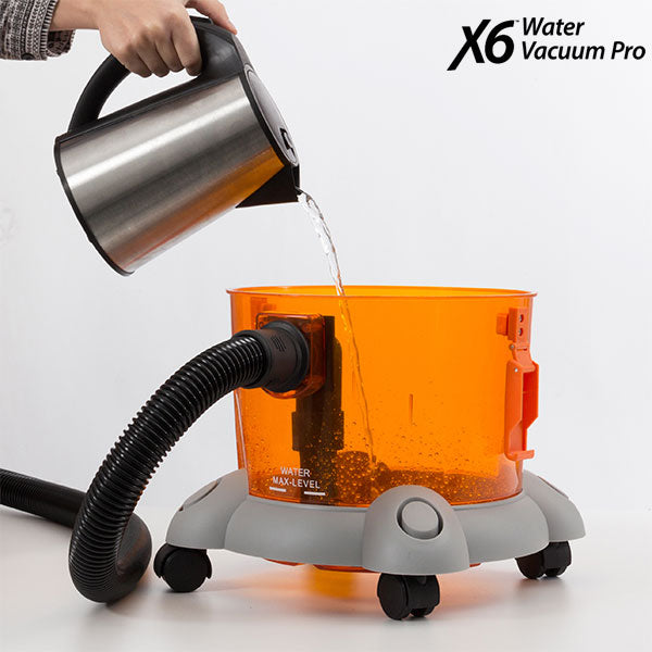 Støvsuger X6 Water Vacuum Pro 10 L 1400W Grå Orange