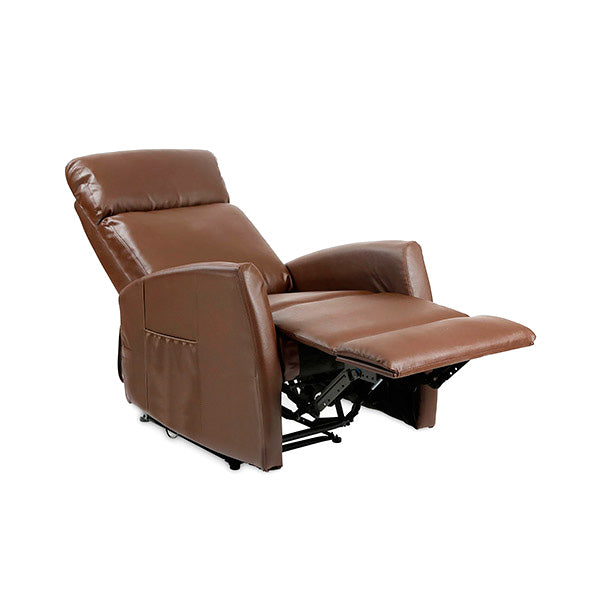 Brun Push Back Massagestol med Vippefunktion Cecotec 6182