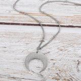 Alhamdulillah | Crescent Moon Necklace