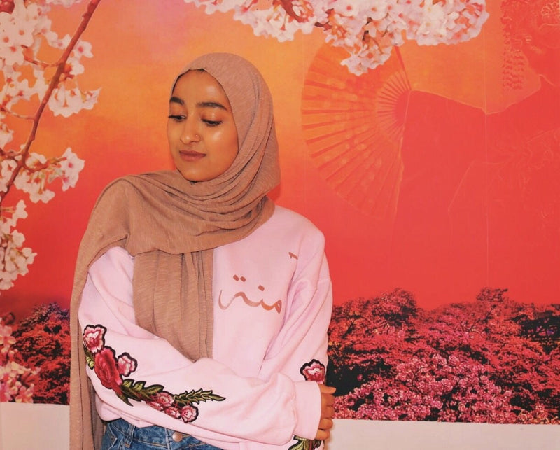 Pink Embroidery Jumper - Al-Huda Clothing