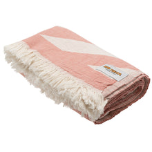 Load image into Gallery viewer, Rio Fiesta Harmony Turkish Towel Peach Australia