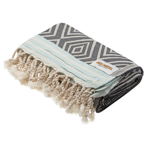 Rio Fiesta Diamond Turkish Towel Dusk Australia