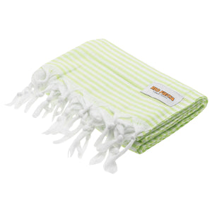 Turkish Towel Lime Green Rio Fiesta Australia