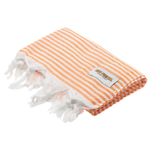 Turkish Towel Orange Rio Fiesta Australia