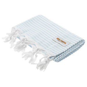 Turkish Towel Baby Blue Rio Fiesta Australia