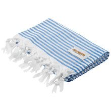 Load image into Gallery viewer, Turkish Towel Indigo Blue Rio Fiesta Australia