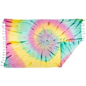 Rio Fiesta Tie Dye Turkish Towel Supernova Australia
