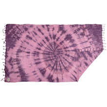 Load image into Gallery viewer, Rio Fiesta Tie Dye Turkish Towel Plum Australia