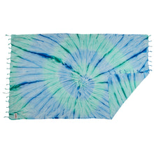 Load image into Gallery viewer, Rio Fiesta Tie Dye Turkish Towel Ocean Australia