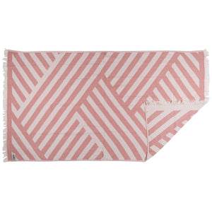 Rio Fiesta Harmony Turkish Towel Peach Australia