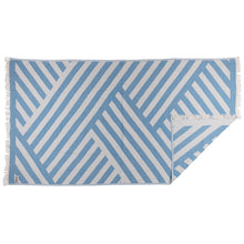 Load image into Gallery viewer, Rio Fiesta Harmony Turkish Towel Azure Blue Australia