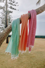 Load image into Gallery viewer, Turkish Towel Forest Green Rio Fiesta Australia