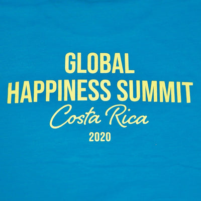 NEW! Mens Happiness Summit T-Shirt - be happy
