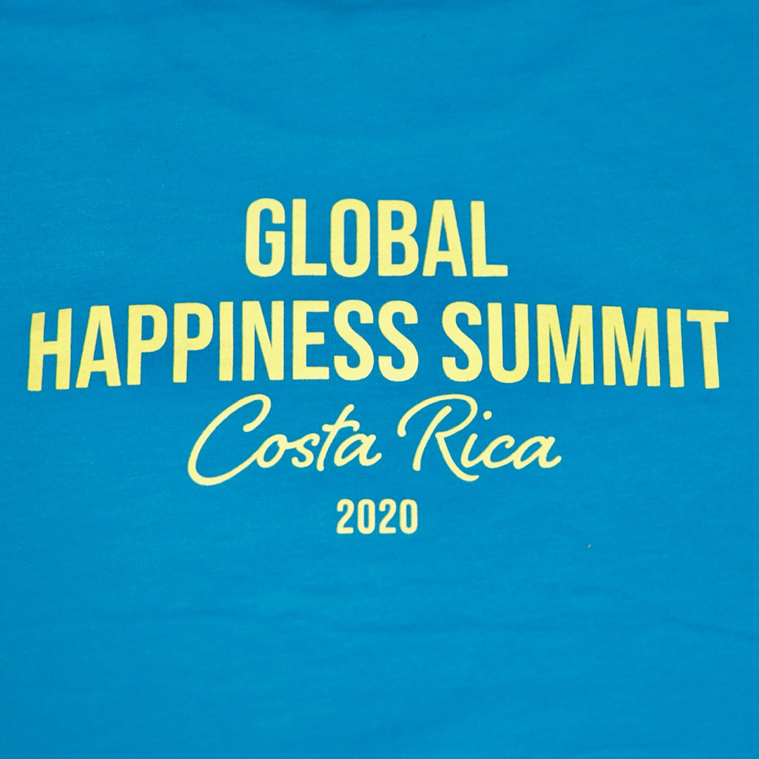 Global Happiness Summit Limited Release Tshirt - Get Happy 2020