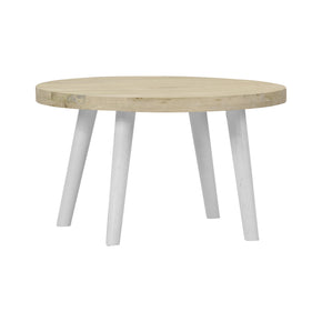 Alva Round Wood Coffee Table