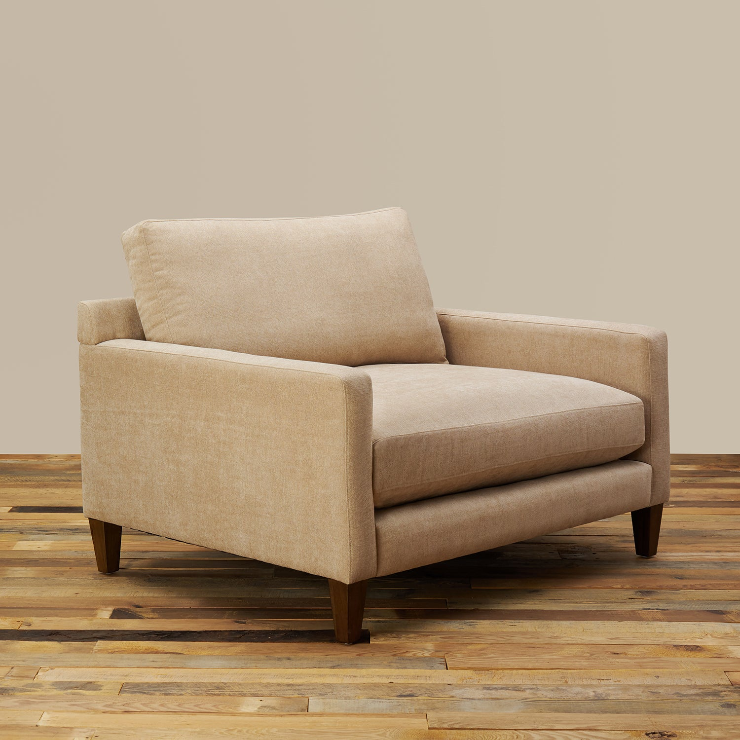 Miraculous Romo Oversized Lounge Chair With Ottoman Gmtry Best Dining Table And Chair Ideas Images Gmtryco