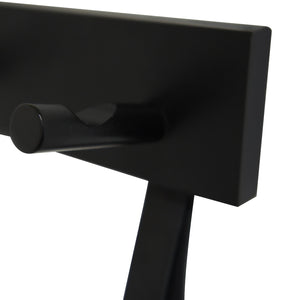 Hook Me Up 3 Black Coat Rack 30cm / 15.8  in