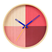 Load image into Gallery viewer, Flor Red Wall Clock