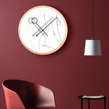 Load image into Gallery viewer, Line Art Prance Wall Clock