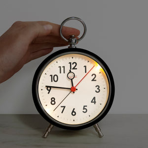 Factory Black Numbers Alarm Clock