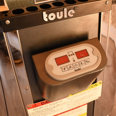 Image of TOULE ETL Certified Wet Dry Sauna Heater Stove - Digital Controller - 6KW - Jet Springs