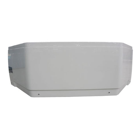 Image of EAGO AM168ETL 5 ft Rounded Corner Acrylic Whirlpool Bathtub For Two - Jet Springs