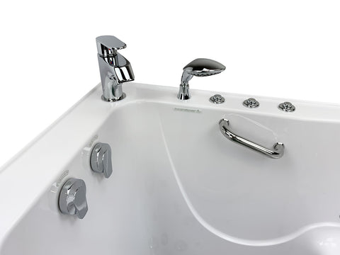 "Image of Ella Elite 03107 Acrylic 30""x52"" Walk In Tub - Jet Springs"