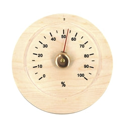 Handcrafted Sauna Hygrometer in Finnish Pine Wood - Jet Springs