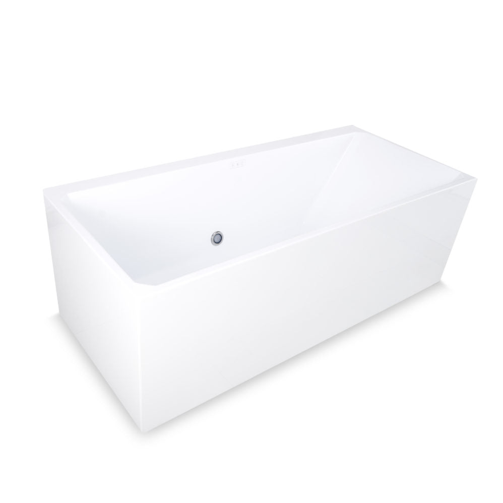 Ella Bali 100 Ultra Air Jet Massage System Acrylic Freestanding Bathtub - Jet Springs