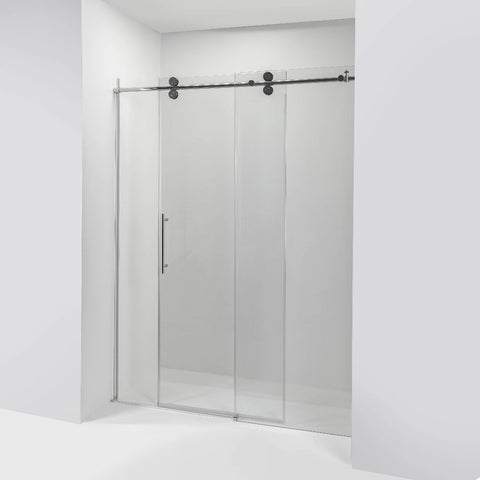 Amluxx Vivid 8mm Tempered Glass Sliding Door - Jet Springs