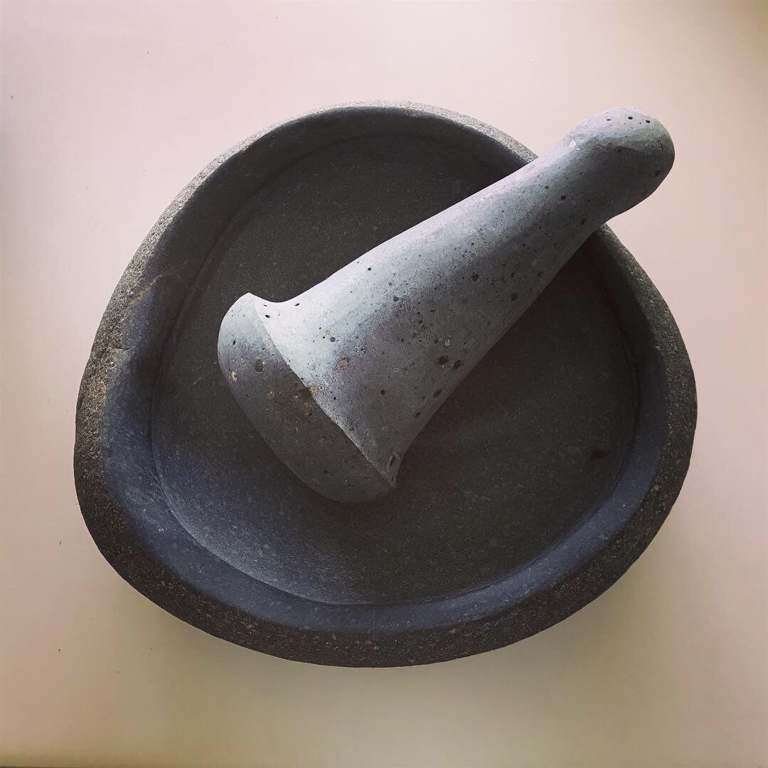 Andesite Mortar and pestle