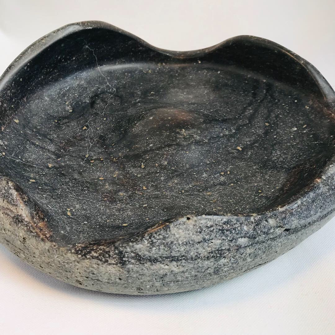 Molten Earth Ripple Bowl