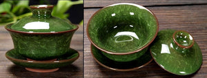 Handmade Broken Glass Effect Tea Cup