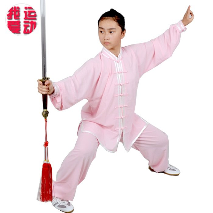White Wudang Cotton-Silk Martial Arts Tai Chi Uniform For Men And Women
