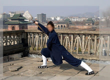 Load image into Gallery viewer, Traditional Wudang Taoist Uniform for Men and Women Open Arms