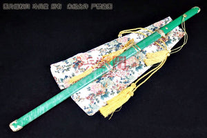 Real Shark Skin Green Scabbard Tang Dynasty Elite Jian