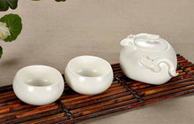 Load image into Gallery viewer, White Mini Tea Ceremony Set