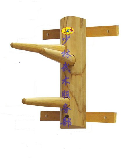 Wall Hanging Wooden Dummy for Wing Chun Fist Kung Fu Practice