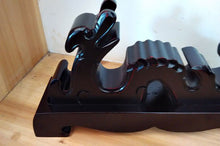 Load image into Gallery viewer, Classical Black Wooden Dragon Sword Shelf